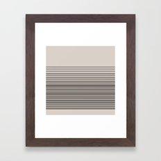Gradient BG-B. Framed Art Print