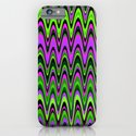 Making Waves Neon Lights iPhone & iPod Case