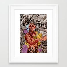 Real OK Framed Art Print
