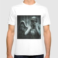 grief Mens Fitted Tee White SMALL