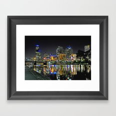 City Reflections Framed Art Print