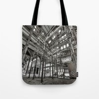 Metallic Structures Tote Bag