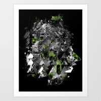 Abstractness Art Print