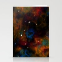 Final Frontier Abstract Stationery Cards
