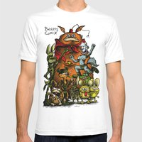 Balsley's Comix (poster) Mens Fitted Tee White SMALL