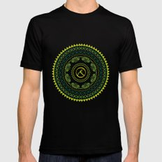 Ayoga SMALL Black Mens Fitted Tee