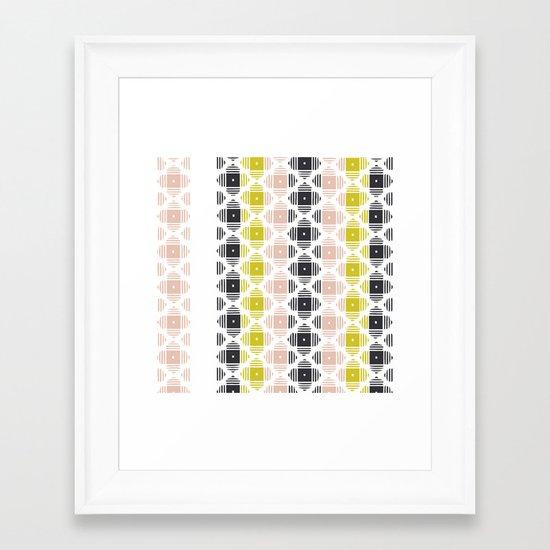 Kilim 2 Framed Art Print