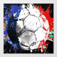 football France Canvas Print