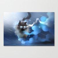 Storm Walk Canvas Print