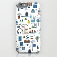 Morocco Sketch iPhone 6 Slim Case