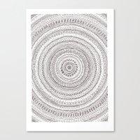 Lines Lines Lines.. Canvas Print