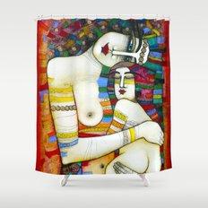 MADONE (hommage to Klimt) Shower Curtain