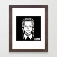 Addams Framed Art Print