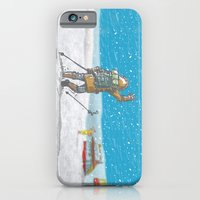 iPhone & iPod Case featuring Freeze by Lee Grace Illustration