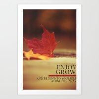 growth. Art Print