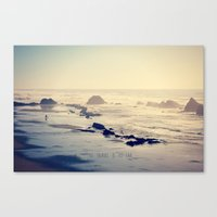 To Travel Is To Live Canvas Print