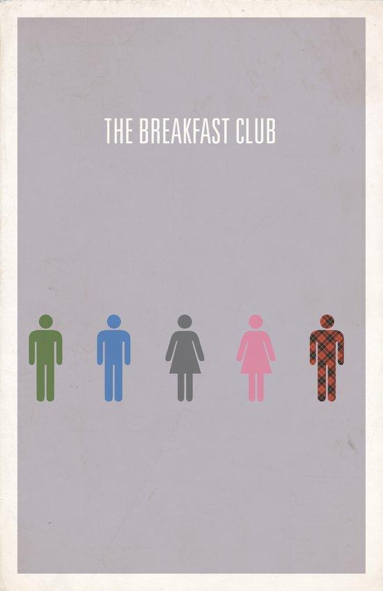 The Breakfast Club Art Print