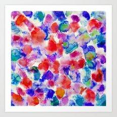 Amaris Blue Art Print