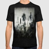 Winter Mens Fitted Tee Tri-Black SMALL