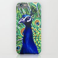 Peacock iPhone 6 Slim Case