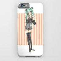 iPhone & iPod Case featuring Hatsune Miku ver.2 by I3uu