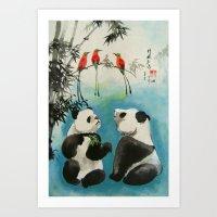 trio orchestra Art Print