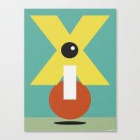 XCLAMATION POINT Canvas Print