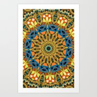Royal Sun Art Print