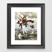 MINGA X Let There Be Lig… Framed Art Print