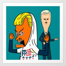 TP for America's Bunghole Art Print