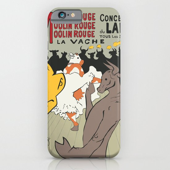 Moolin Rouge - This Cow Can Can Can iPhone & iPod Case
