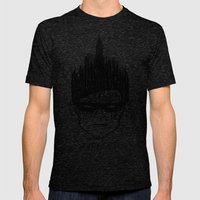 Robin, Boy Of Wonder Mens Fitted Tee Tri-Black SMALL