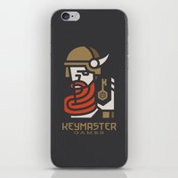 Keymaster Games iPhone & iPod Skin