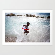 Haiti is Beautiful Art Print