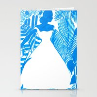 Rendezvous Blue Stationery Cards
