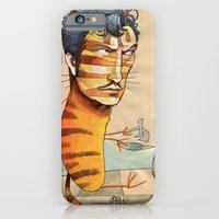 iPhone & iPod Case featuring EASY, TIGER by busymockingbird