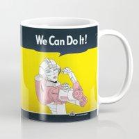 we can do it. Mug