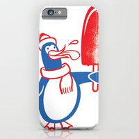 iPhone & iPod Case featuring Popsicle Penguin by drawgood