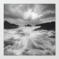 Stormy Morning Canvas Print
