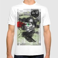 Benito Mens Fitted Tee White SMALL