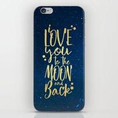 i love you... iPhone & iPod Skin