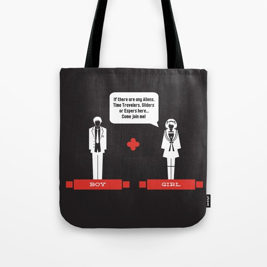 Boy Meets Girl Alt. Tote Bag