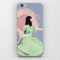 huaxi lilac iPhone & iPod Skin