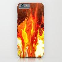 Fire - Modern Art  iPhone 6 Slim Case