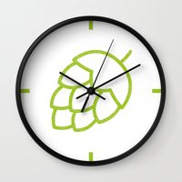 Me So Hoppy Wall Clock