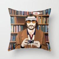 Richie Tenenbaum Throw Pillow