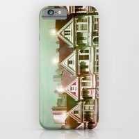 iPhone & iPod Case featuring Painted Ladies - remix by Suzanne Kurilla