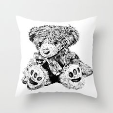 Teddy Throw Pillow