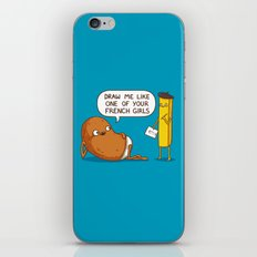 French Potato iPhone & iPod Skin
