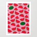Sandia / Watermelon Art Print